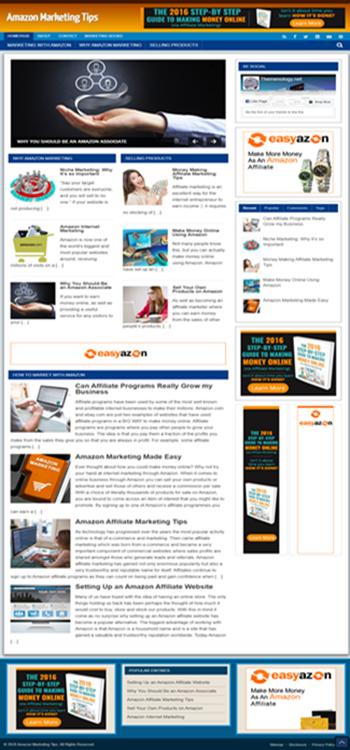 Themenology.net Amazon Marketing Tips SS Large