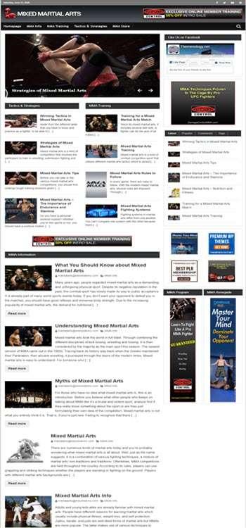 Themenology.net Mix Martial Arts SS Large