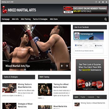 Themenology.net Mix Martial Arts SS