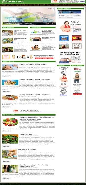 Themenology.net Weight Loss SS Large